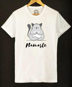 Organic cotton T-shirt-Namaste, Men