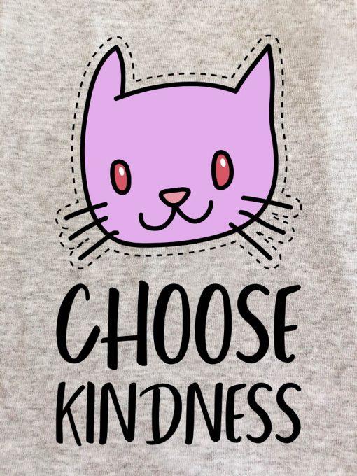 Printed Sweatshirt-Choose Kindness, Women