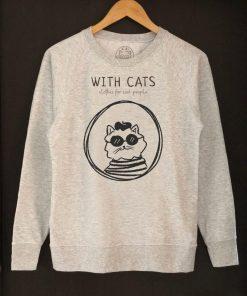 Printed Sweatshirt-Cool People, Women