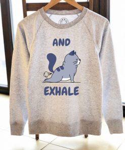 Printed Sweatshirt-And Exhale, Women