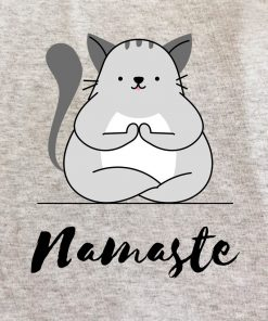 Printed Sweatshirt-Namaste, Women