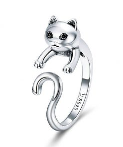 Complete Cat Silver Ring