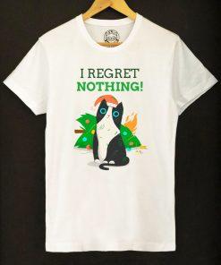 Organic cotton T-shirt-I Regret Nothing, Men