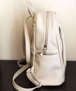 Hand Painted Natural Leather Backpack-Cats